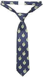 Andy & Evan Baby Boys' Dreidel Tie, Navy, 0-24 Months
