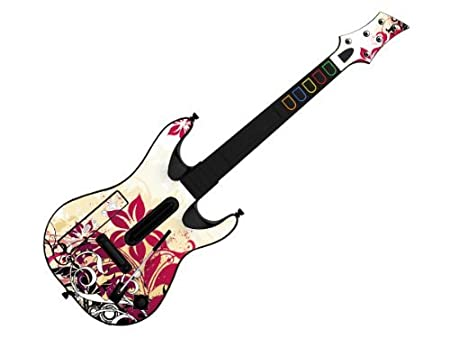 Decorative Skin fits Guitar Hero 5 for Wii (GUITAR NOT INCLUDED), Item No.GTW0996-17
