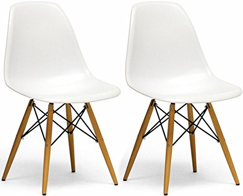White Wood Chair front-1075332