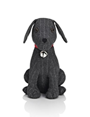 Benjamin Sitting Dog Doorstop