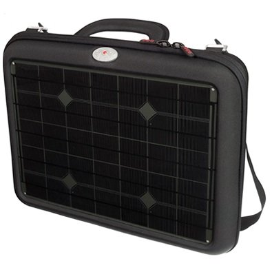 Voltaic Generator Solar Laptop Charger Bag Charcoal Panel