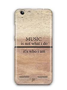 YuBingo Music is Who I am Mobile Case Back Cover for Lenovo Vibe K5 Plus