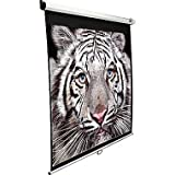 Screen Technics Instalock Projector Screen 5x7 With Extra Thick Fabric , Ultimate Viewing Premium Grade