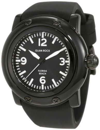 Glam Rock GW25060 - Orologio da polso da donna colore nero