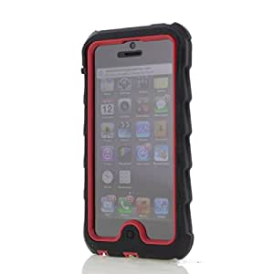 Gumdrop Drop Tech Series Case for iPhone 5 - Black/Red