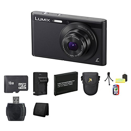 Panasonic Lumix Dmc-Xs1 16.1 Mp Digital Camera (Black) Bundle 2