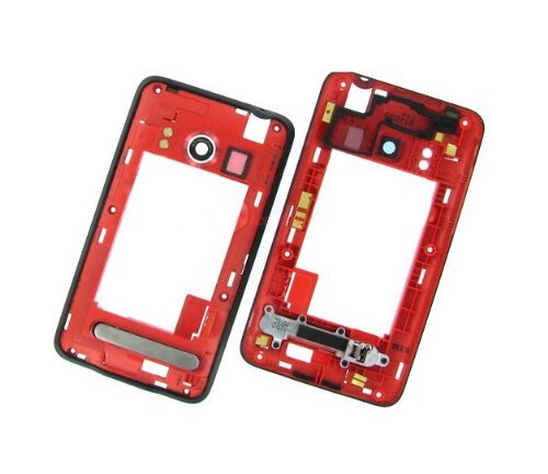 Epartsolution-Htc Evo 4G Mid Frame Back Housing Chassis Cover Replacement Part Usa Seller front-555018