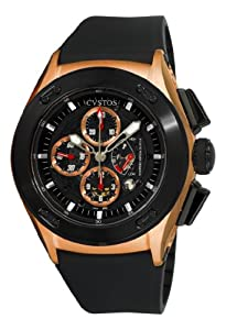 Cvstos Men's CVCRRNRGGR Challenge-R Chrono Rose Gold Watch