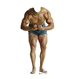 Muscle Man Stand-In - Advanced Graphics Life Size Cardboard Standup