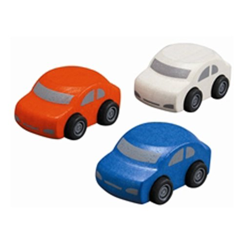 Plan Toys Family Cars  (1Set@3Pcs)