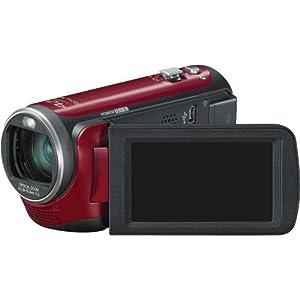 Panasonic HDC-TM80R HD Twin Memory Camcorder (Red)