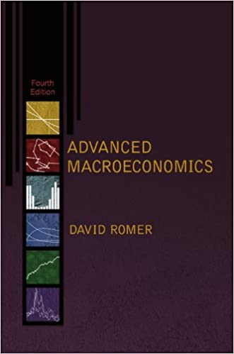 Advanced Macroeconomics, 4 edition