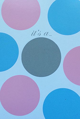 Its a Boy- Reveal Scratch Off Cards, Baby Invites