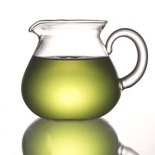 ELITEA Extra Thick Clear Glass Milk Tea Serving Pitcher Mug 200ml / 7 fl.oz CLEARANCE
