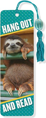 Baby Sloth Beaded Bookmark