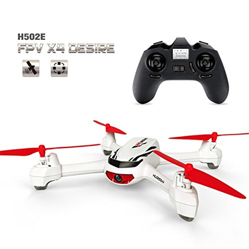 XT-XINTE Hubsan X4 H502E With 720P 2.4G 4CH HD Camera GPS Altitude Mode RC Quadcopter RTF Mode Switch
