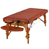 "Hot Sale Master Massage 31"" Santana Therma Top LX Portable Massage Table Package (with FREE Carrying Case, Bolster, Spa Music CDs and Pillow Covers)"