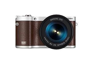 Samsung 300 + 18-55mm Appareil Photo Numérique Compact 20.3 Mpix Wi-Fi Marron