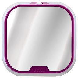 Five Star Locker Mirror and Locker Light, Locker Accessories, Purple, 4.5 in. x 4.5 in. x .88 in. (73593) by Five Star