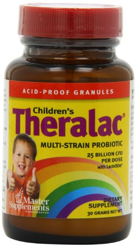 Master Supplements Children's Theralac, 30-Grams