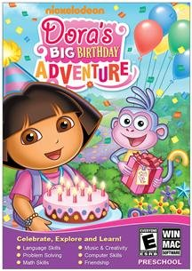 Nova Development Corp Doras Big Birthday Adventure Developmental Categories Sm Box
