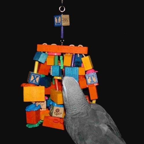 Cheap Spider African Grey / Amazon Parrot Bird Toy (Junior) (B003RABSF6)