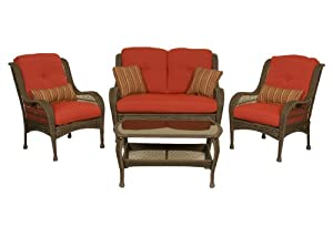 Bella Vista 4pc Seating Set By La-z-boy Outdoor by La-Z-Boy Outdoor
