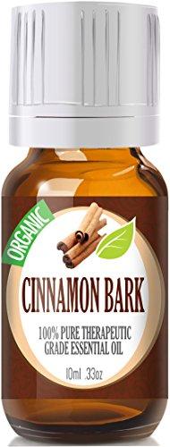 Cinnamon Bark (Organic) 100% Pure, Best Therapeutic Grade Essential Oil - 10Ml