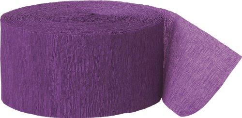 Party Streamer, 81-Feet, Purple