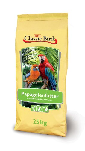 Classic Bird Papageienfutter, Vogelfutter - 25kg