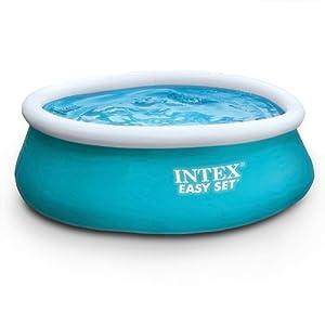 Intex piscina gonfiabile spaziosa per bambini swimming for Piscine intex amazon