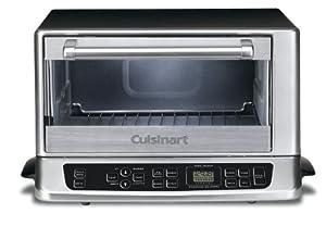 Cuisinart TOB-155 Toaster Oven Broiler, Stainless/Black