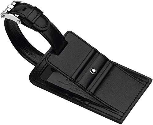 Black Luggage Tags Black Leather Luggage Tag