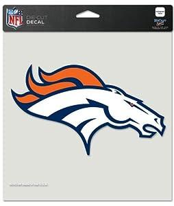 Buy Denver Broncos Die-Cut Decal - 8x8 Color by Caseys