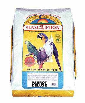 Parrot Mix Deluxe Pet Bird Food - 25 Lbs