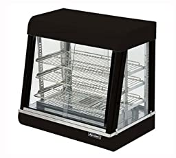 Adcraft Countertop Stainless Steel Heated Display, 25 1/4 x 26 x 18 3/8 inch -- 1 each.