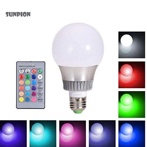 lampada-bulbo-a-led-con-ir-telecomandosunpionr-10w-16-cambia-colore-rgb-led-lampadina-bulbocelebrati