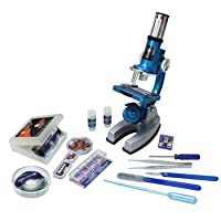 Deluxe Die-Cast High Definition Microscope Set (50 Pieces)