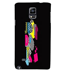 SAMSUNG GALAXY NOTE 4 JUST DO IT Back Cover by PRINTSWAG
