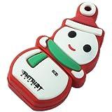 Patriot Holiday Snowman 8 GB USB 2.0 Flash Drive PSF8GUSBXMASSM
