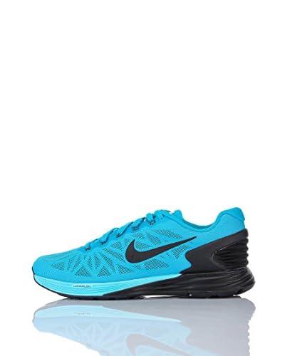 Nike Zapatillas Lunarglide+ 6 Cielo / Negro
