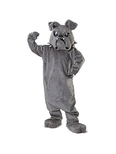 Adult Bull Dog Mascot Costume