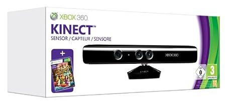 Microsoft Kinect (Sensore interattivo) + Kinect Adventures [Bundle]