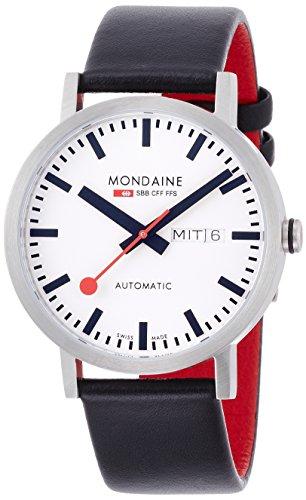 Mondaine SBB Classic Automatic Day Date 40mm - Reloj de pulsera