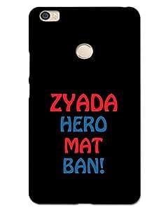 Xiaomi Mi MaxBack Cover Designer Hard Case Printed Cover
