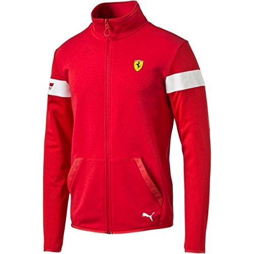 puma-mens-sf-sweat-jacket-rosso-corsa-large