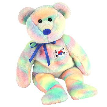 TY Beanie Baby - COREANA the Bear (Korean Exclusive)