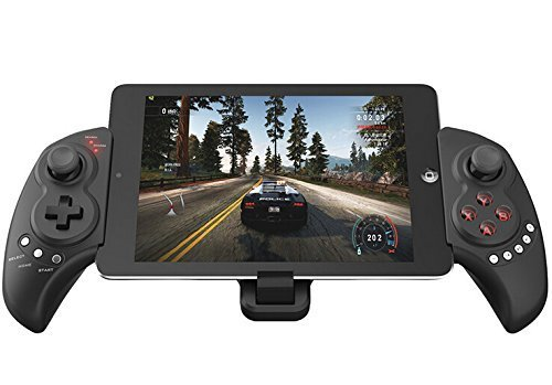 Generic Wireless Bluetooth Game Pad Game Controller with Scalable Tray for Mobile Phone Joystick for iPhone iPad Samsung Android iOS - 9023