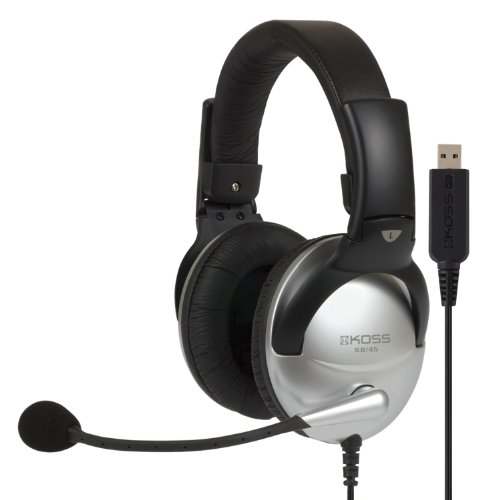 Koss Multimedia Stereo Headphone With Usb Plug (Sb45 Usb-178203)