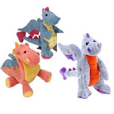 Sherpa Godog Mini Dragon Dog Toys with Chew Guard (Set of 3)